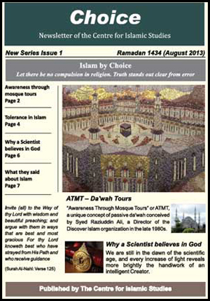 Choice - newsletter - issue -01